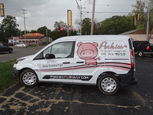 Porkies Vehicle Wrap