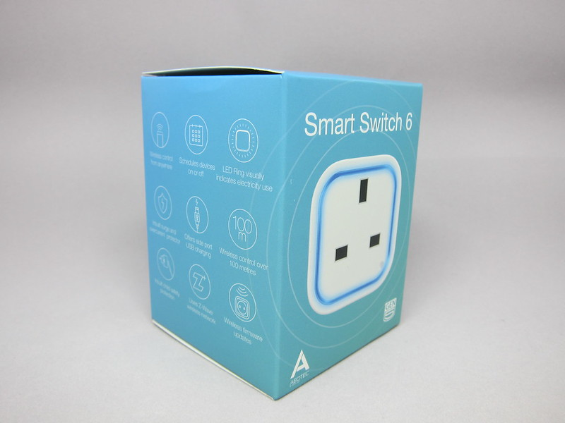 Aeon Labs Aeotec Z-Wave Smart Switch 6 (Gen5) - Box