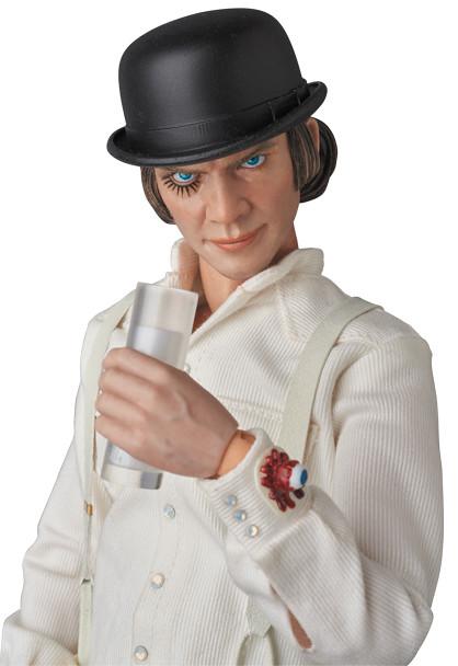 MEDICOM TOY【發條橘子:艾力克斯】RAH A Clockwork Orange Alex DeLarge 1/6 比例人偶作品