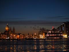 Amsterdam skyline from Oosterdok