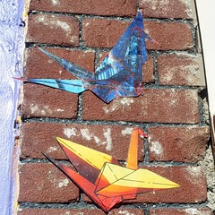 #art #origami #crane #dtla #dtlaartsdistrict