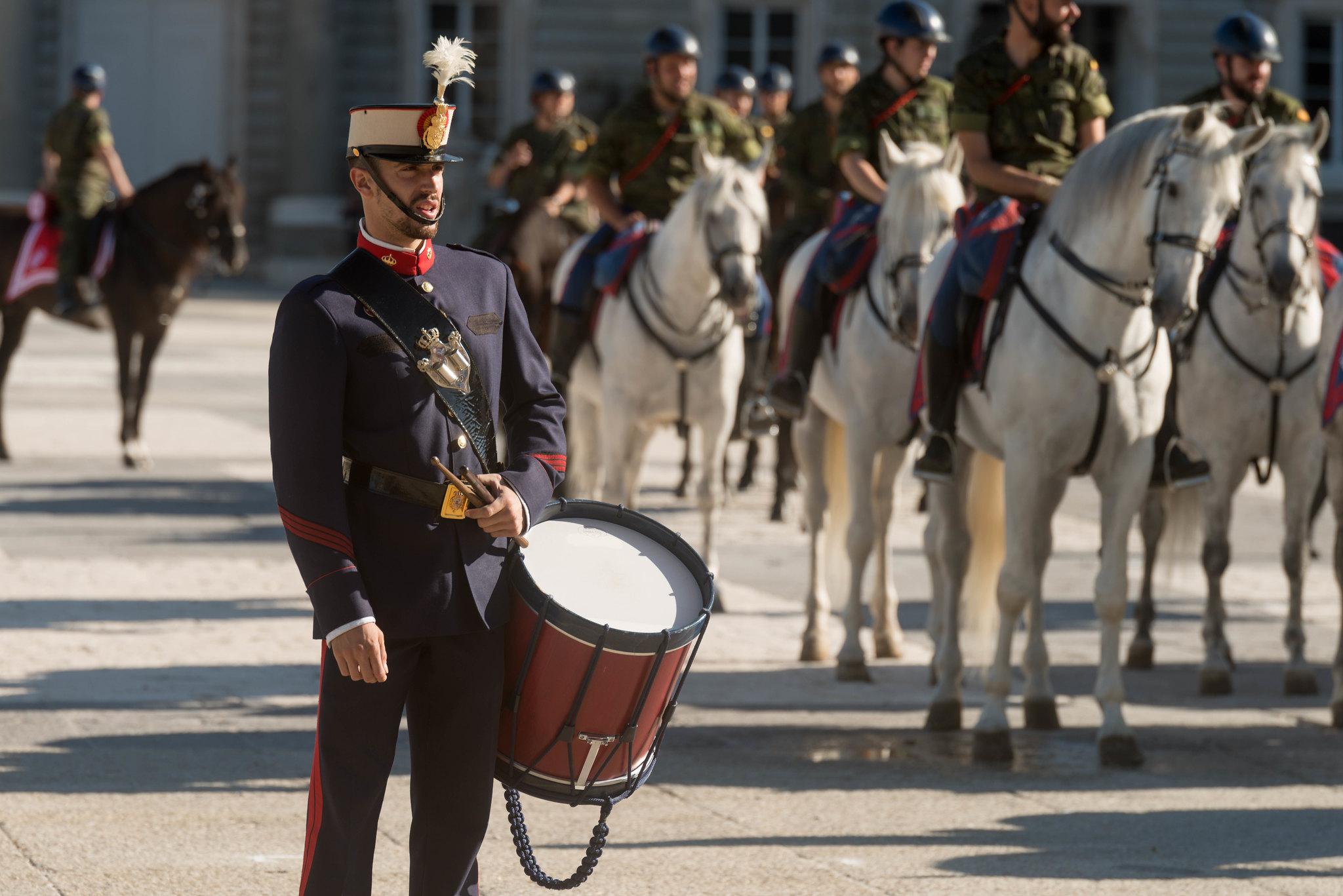 Cambio de Guardia y Relevo Solemne en el Palacio Real