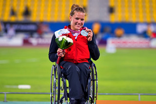 Catherine Debrunner - Wheelchair Athlete