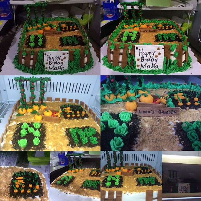 Vegetable Garden Cake by Milany Asistio Pedrosa