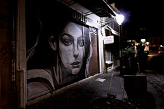 Night Street Ioannina