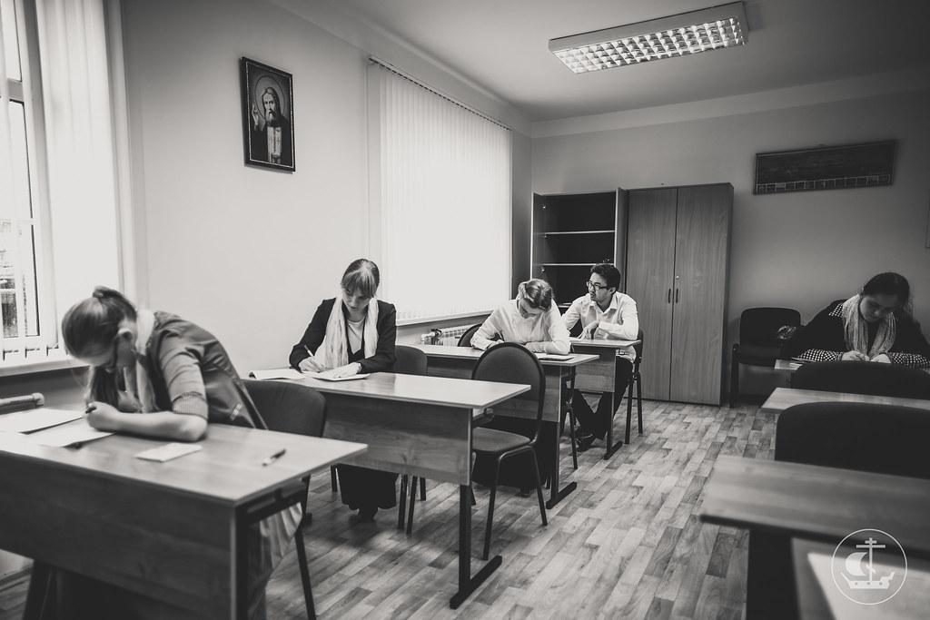 6 июля 2016, Вступительные экзамены на регентское и иконописное отделения / 6 July 2016, Entrance examination for Icon Department and for Choir Department
