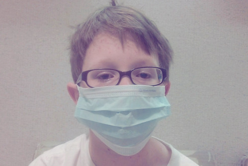 day 3229: wherein the chickenpox turns into a trip to the hospital! I.