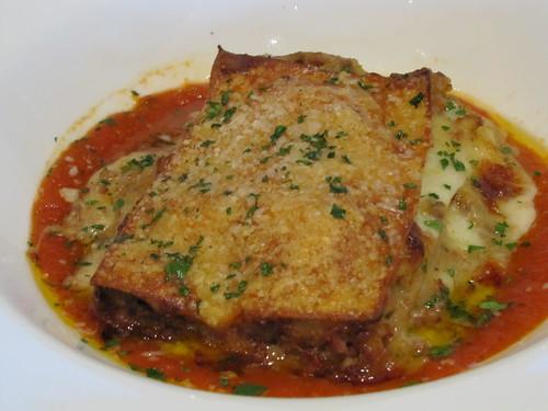 Lasagna Tradizionale at Peppoli's