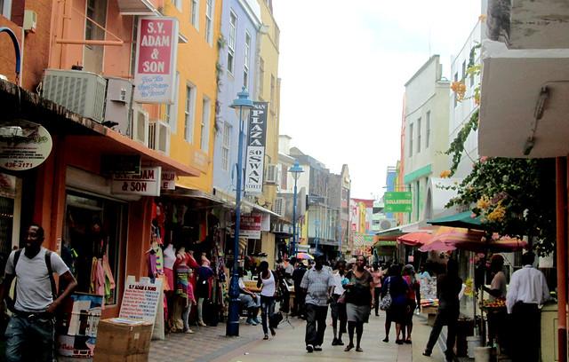 Bridgetown - Shopping Street