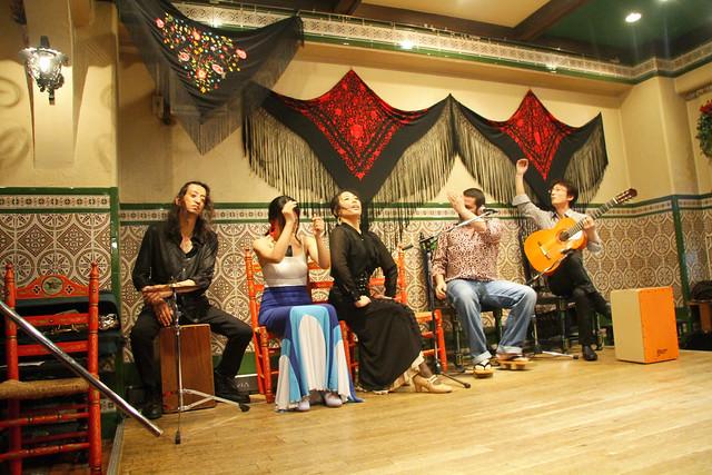 cuadro flamenco completo