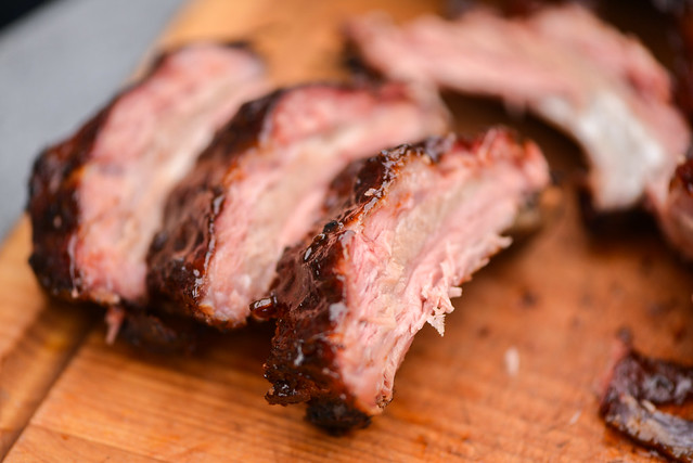 Balsamic Galzed Baby Back Ribs