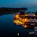 Nautnes by night, Øygarden, Norway. by Bhalalhaika
