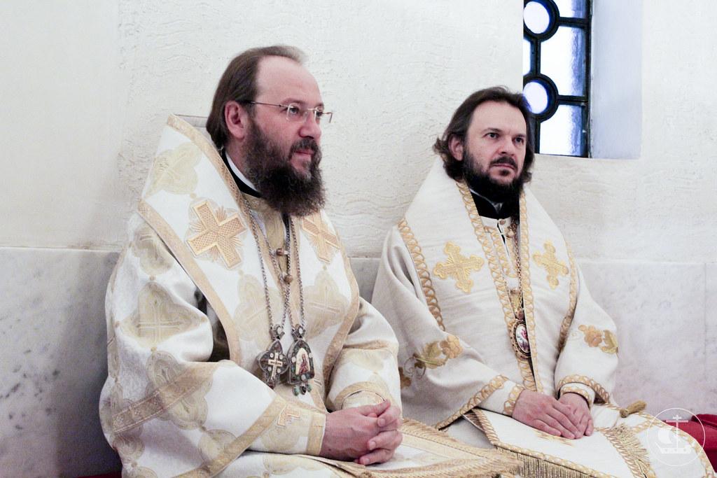 24 мая 2013, Божественная Литургия в день памяти равноапостольных Кирилла и Мефодия в Белграде