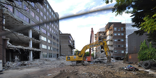 Putney Plaza demo - wide angle