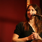 Mon, 03/06/2013 - 8:42pm - KT Tunstall with an audience of WFUV Members, June 3, 2013. Hosted by Carmel Holt. Photo by Laura Fedele