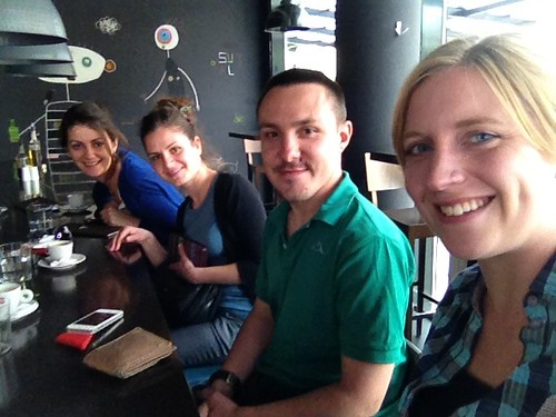 Morena, Ina, Mattia and I at Phillipe