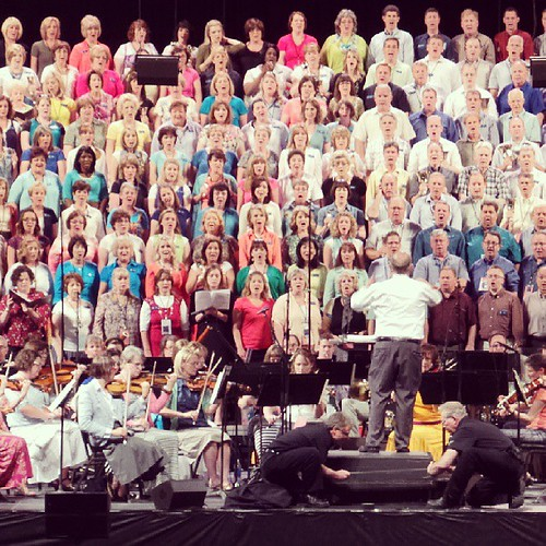 I'm photographing the Mormon Tabernacle Choir today! Are you coming to their show in #Indy tonight? #MoTab