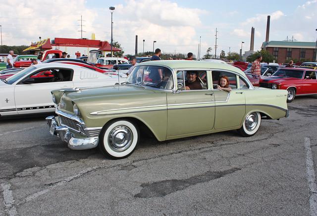1956 chevrolet bel air 4 door sedan 2 of 3 flickr for 1956 chevy 4 door sedan