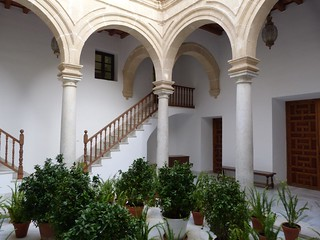 Patio de la casa-palacio de Araníbar