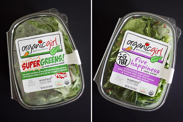 tomato, olive + baby kale panzanella salad