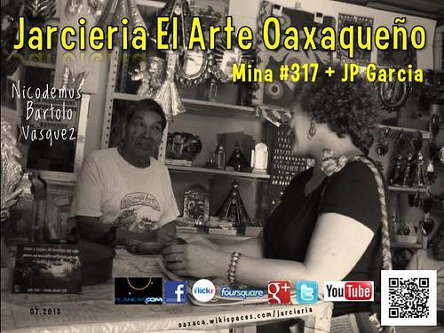 Jarcieria El Arte Oaxaqueño Poster 07.2013