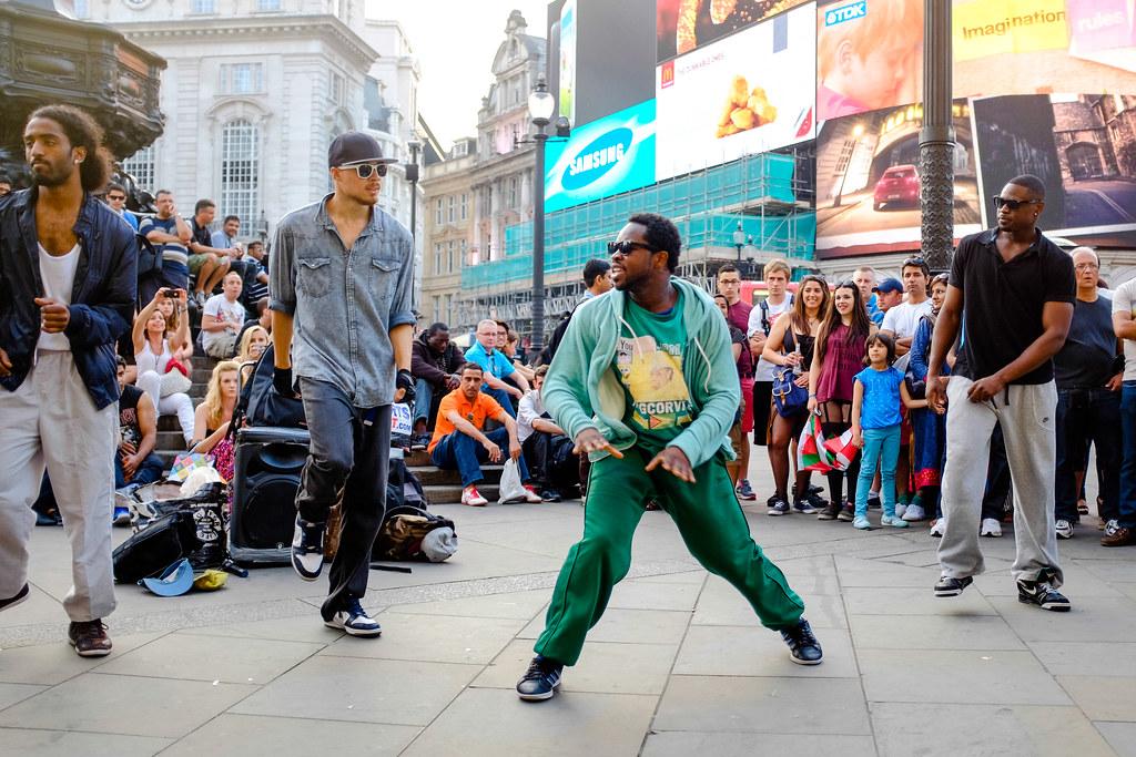 Unhip dancers