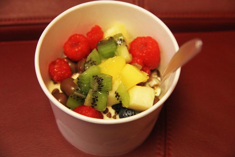 frozen yoghurt med Maria
