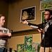 Joe McAdam gets bad jokes from Stephen Winchell