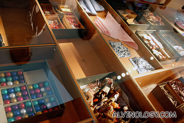 Assorted items the Eames collected for inspiration from daily lives