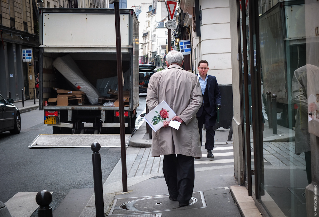 Paris, Old Man with Letter