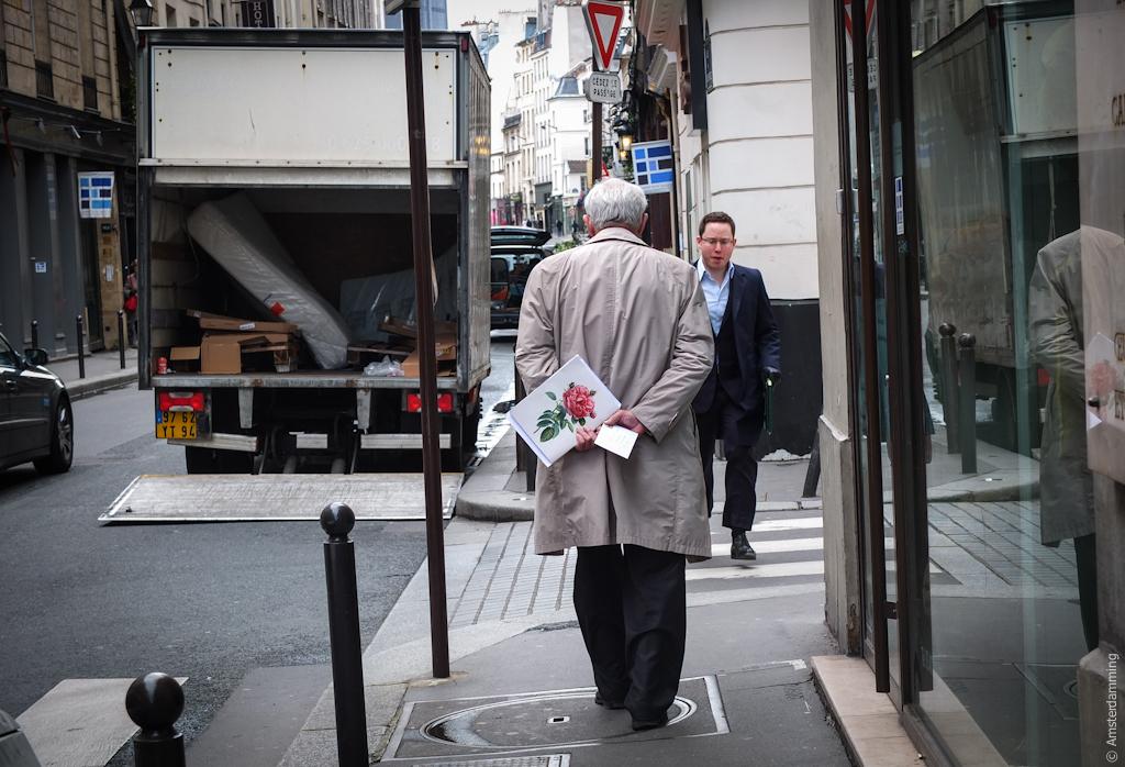 Paris, Old Man with Letter