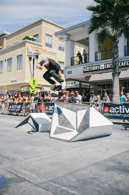 Volcom Best Trick @ Active HB!