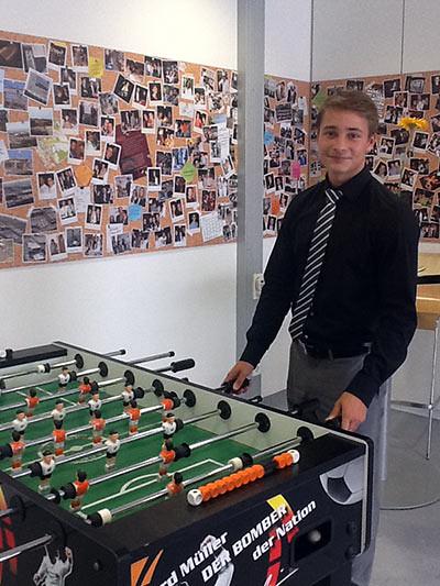 Bechtle Fussballspieler Alexander