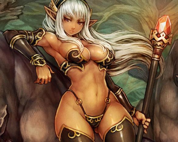dark elf on dwarf sex