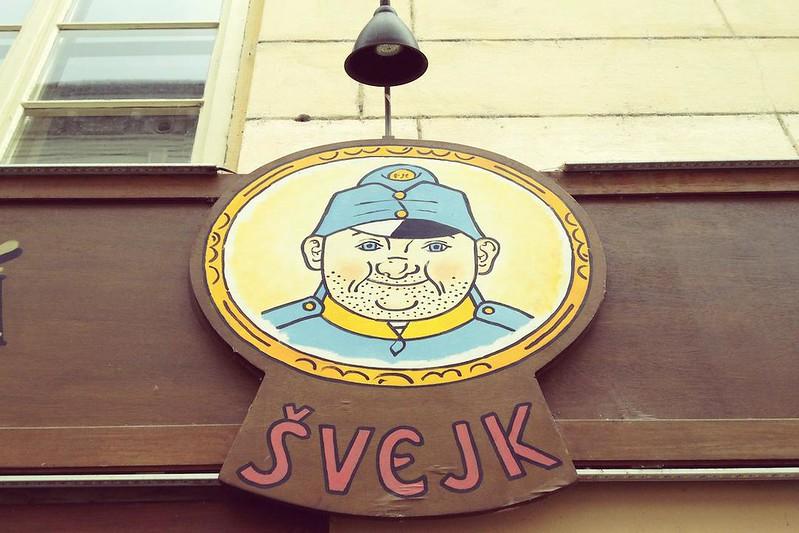 A Sign in Mala Strana