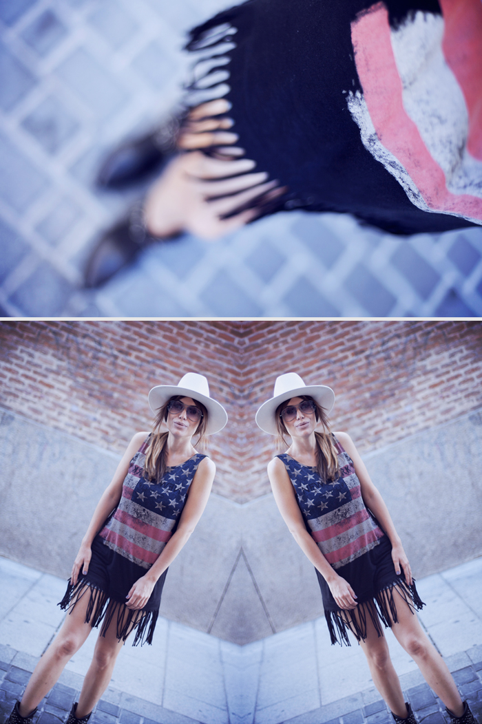 street style barbara crespo music madonna usa tank top outfit sendra hat