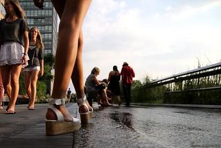High legs on the High Line