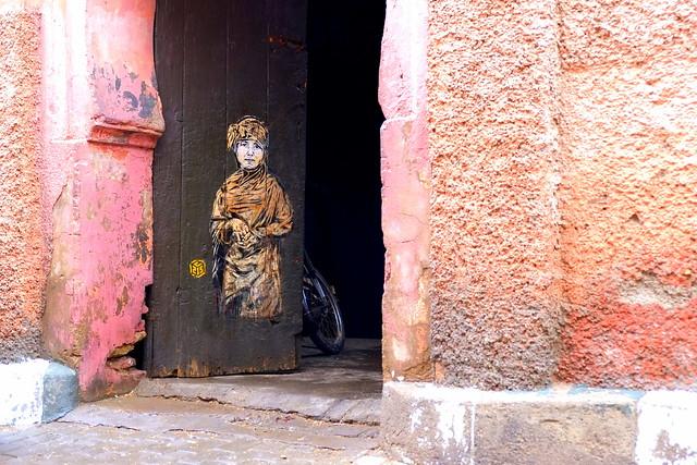 stencil | c215 | marrakech