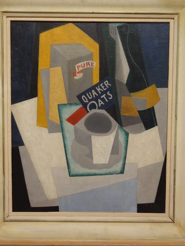 Quaker Oats - Cubist Still Life, by Gino Severini. (1917).