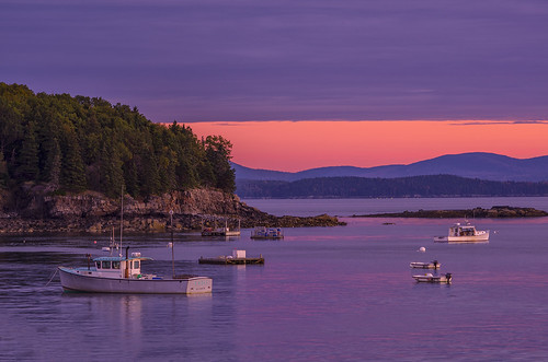 Bar Harbor at Dawn 1--EXPLORED!