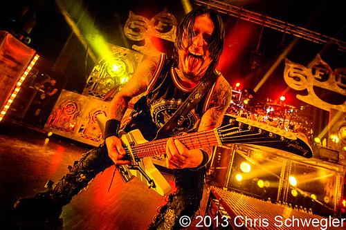 Five Finger Death Punch – 10-08-13 – Wrong Side Of Heaven Tour, The Fillmore, Detroit, MI