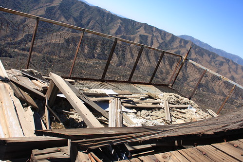 Cuyama Peak Lookout/AWS Cabin Remains No. 3