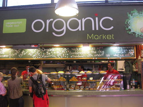 Organic Market in La Boqueria. From Foodie Finds: Exploring Barcelona, One Bite at a Time