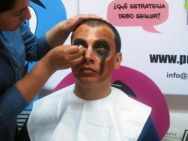 Maquillaje Artístico Halloween Hombre 01