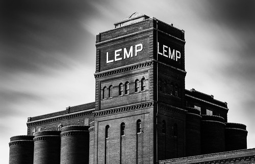 The Old Abandoned Lemp Brewery - St. Louis, Missouri