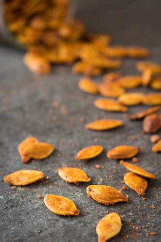 Maple Sriracha Pumpkin Seeds