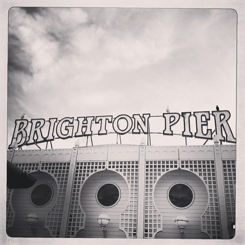 Brighton Pier by PhotoPuddle