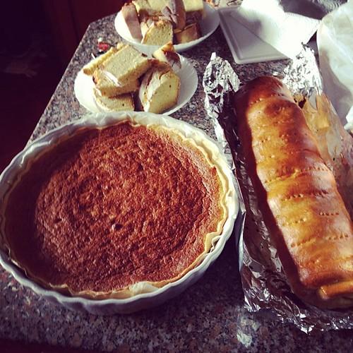 Almoço em casa do Luís