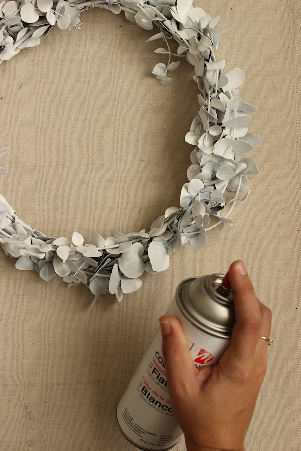 Fabric Paper Glue | DIY Minimalist Fall Wreath