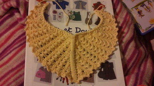 Shawl for the BJD of my friend ^^